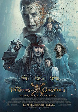 pirates des caraibes 5 affiche