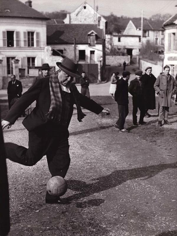 Jean Gabin - foot fin 50