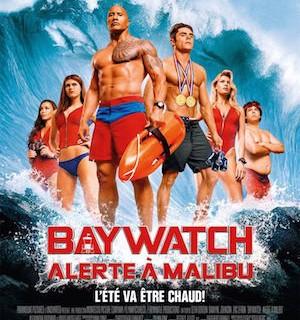 baywatch affiche film