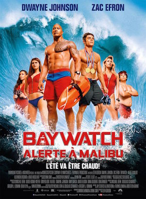 baywatch affiche film