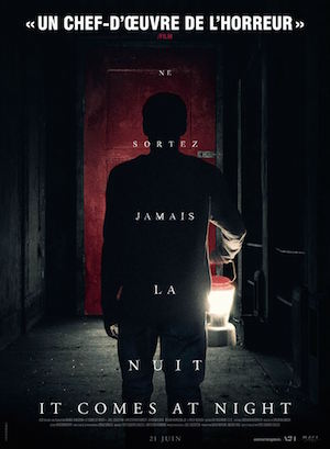 it comes at night affiche