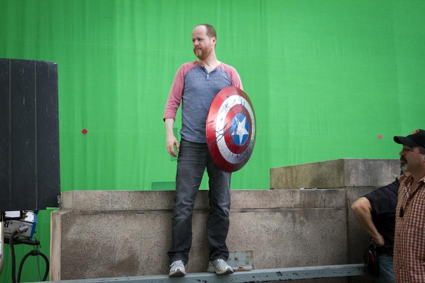 ?Marvel's The Avengers?..Director Joss Whedon on set..Ph: Zade Rosenthal ..© 2011 MVLFFLLC. TM & © 2011 Marvel. All Rights Reserved.